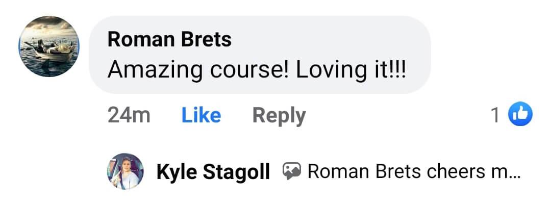 Testimonial of Roman Brets